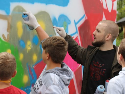 Atelier Peinture – Graff – Sculpture